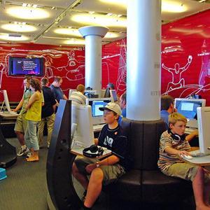 Интернет-кафе Трехгорного
