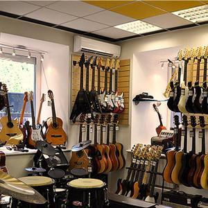 Музыкальные магазины Трехгорного